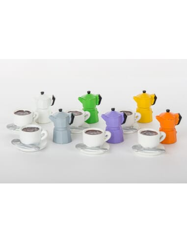 MINI CAFFETTIERE-TAZZE 12ASS*4cm