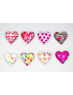 MAGNETI CUORE 8 ASSORTITI*4x4