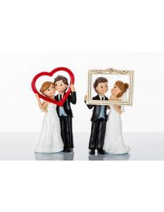 Sopratorta cornici w gli sposi